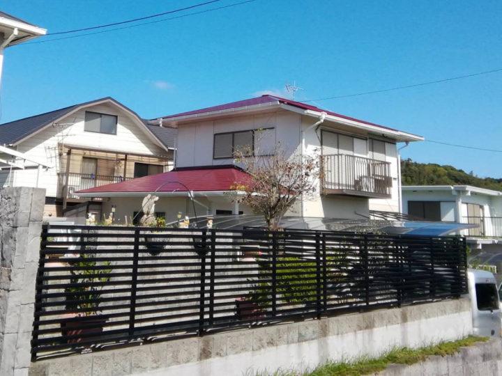 北九州市若松区 ごとう様邸 屋根塗装工事