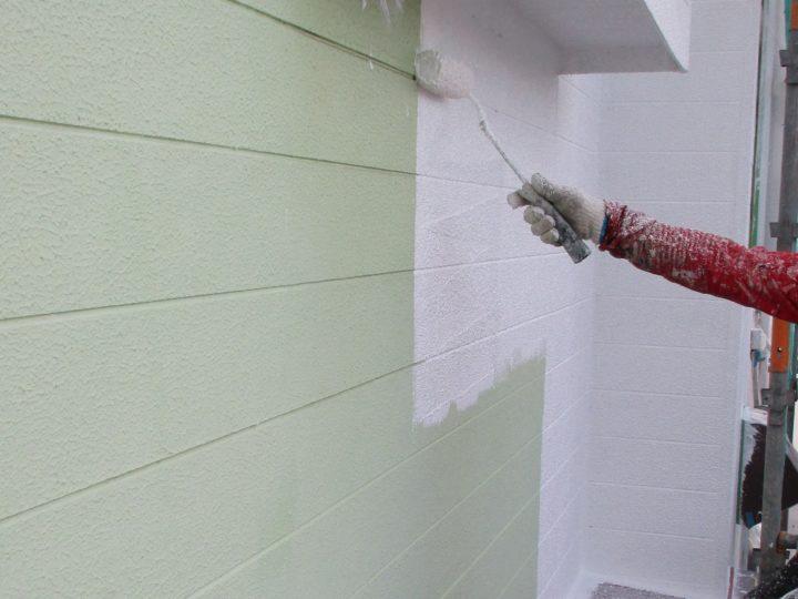 外壁塗装③⇩