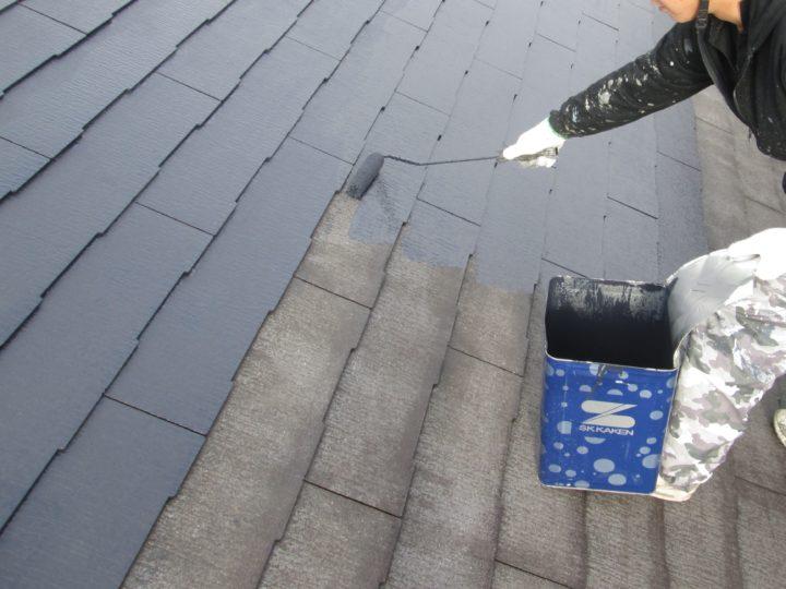 ⇦屋根塗装➃