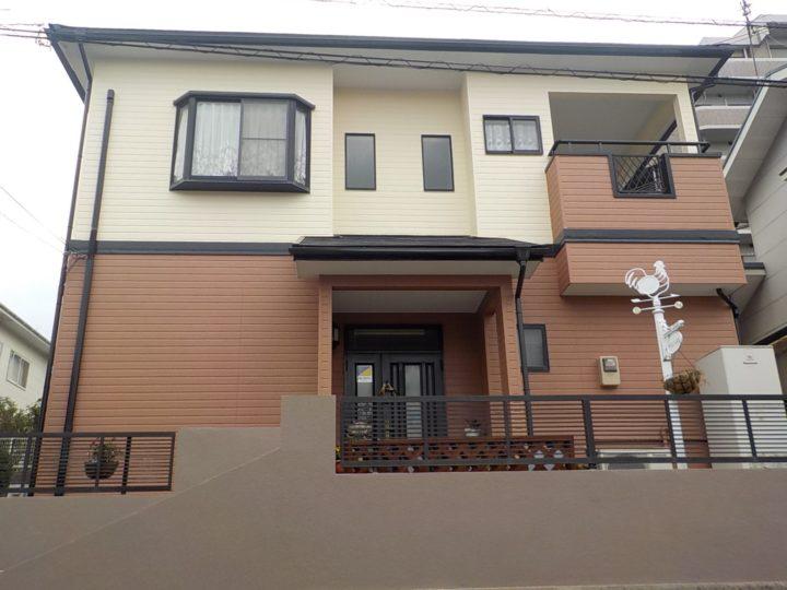 北九州市八幡西区 K様邸 屋根・外壁塗装工事