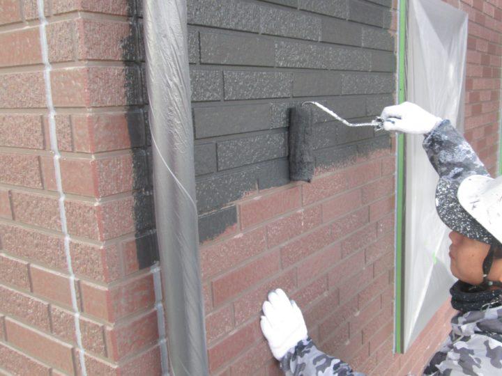 ⇦外壁塗装(1階)➃