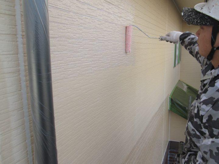 外壁塗装(2階)③⇩