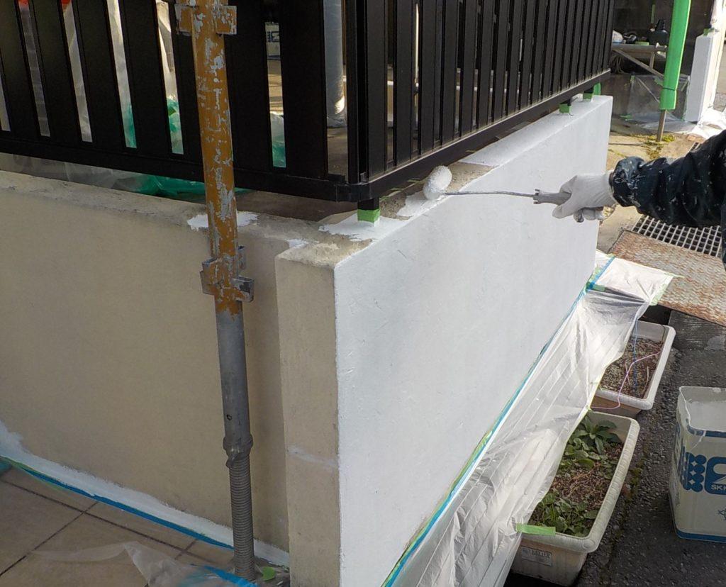 外壁塗装 塀