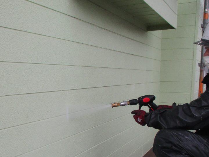 外壁塗装②⇨