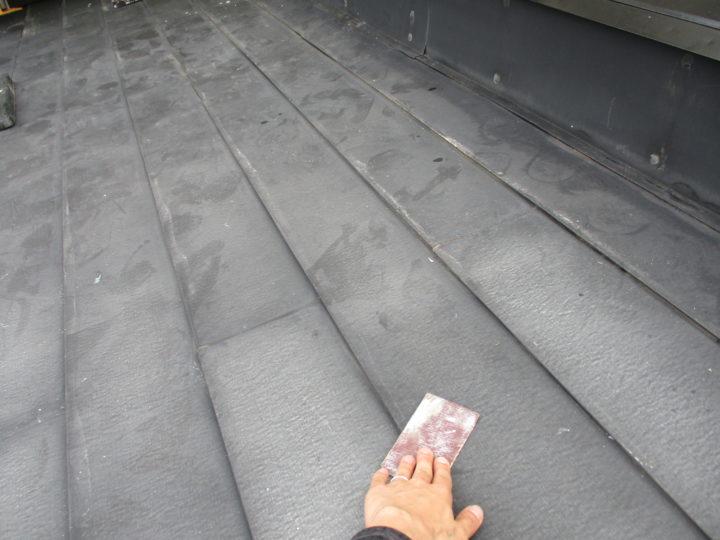 屋根塗装②⇨