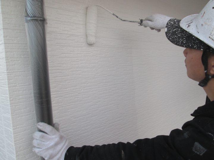 ⇦外壁塗装(2階)⑤