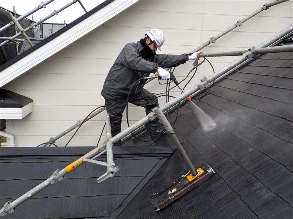 屋根塗装 中間市