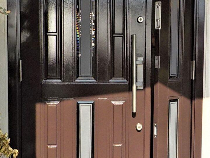 遠賀郡 K・K様邸 玄関ドア塗装工事