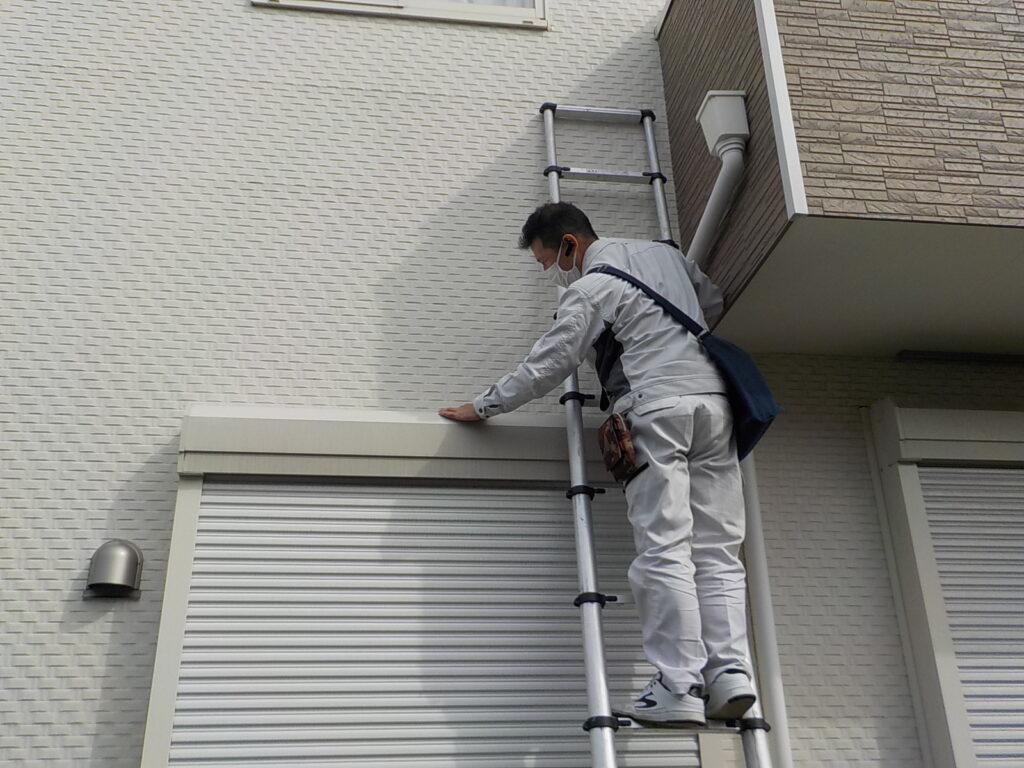 シャッター塗装 北九州市