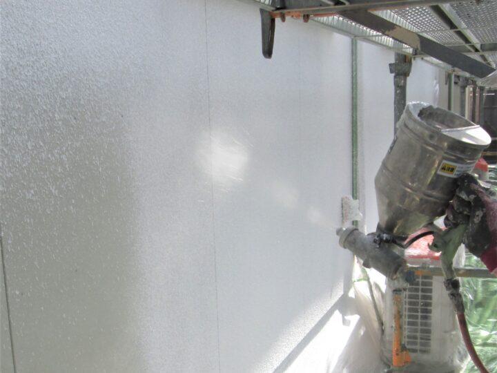 ②外壁(サイディングボード)張替え後の吹き戻し