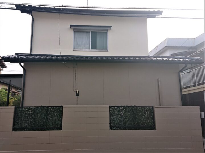 遠賀郡 嶋崎様邸 屋根・外壁塗装工事