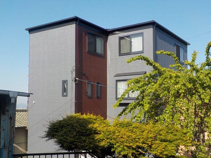 匿名希望様邸 屋根・外壁塗装工事、付帯工事