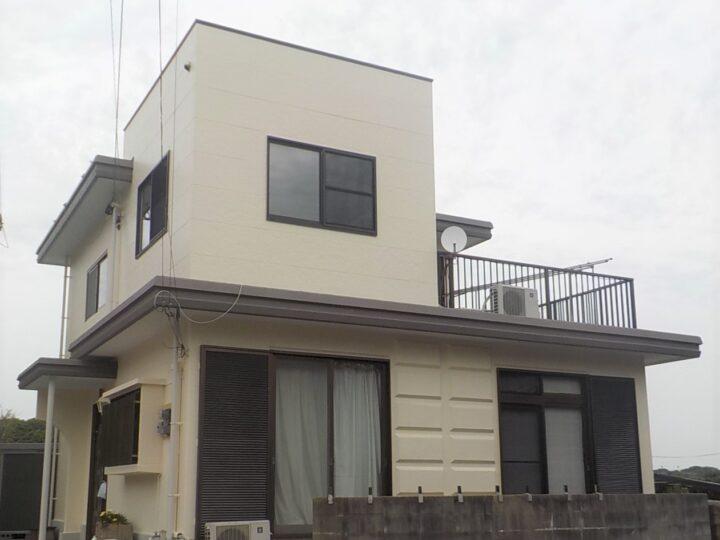 遠賀郡 堀江様邸 外壁塗装・屋上防水工事