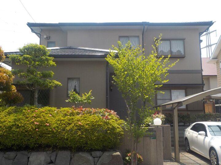 北九州市若松区 松井様邸 屋根・外壁塗装工事、付帯工事