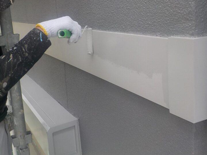 ④幕板下塗り