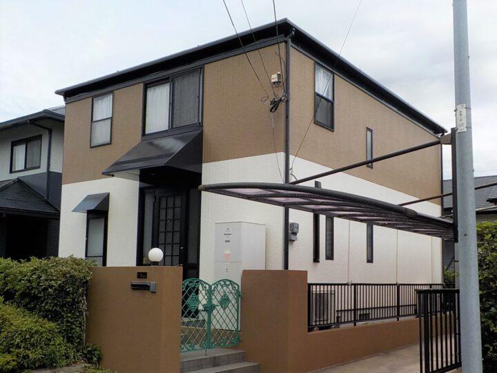北九州市若松区 T様邸 屋根・外壁塗装工事