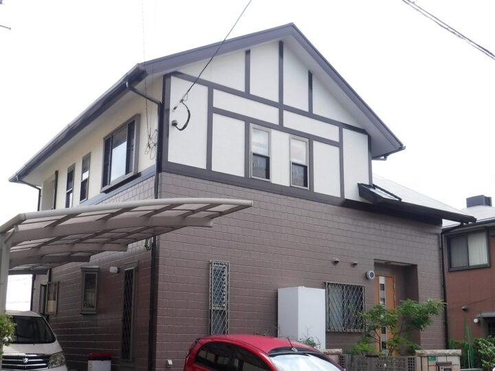 北九州市若松区 N様邸 屋根・外壁塗装工事、付帯工事