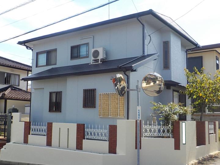 遠賀郡 H様邸 屋根・外壁塗装工事、付帯工事